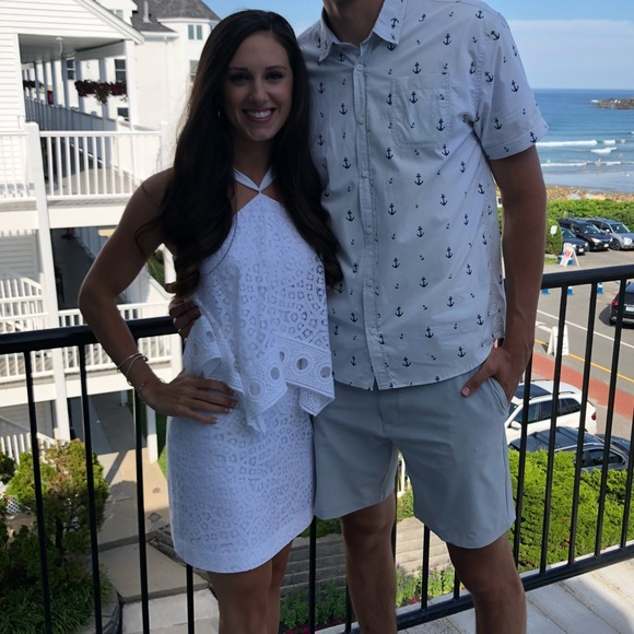 Lilly Pulitzer Dresses & Skirts - White lace Lilly Pulitzer sun dress